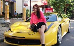 """Thú chơi siêu xe và xe siêu sang """"toàn hàng khủng"""" của vợ cũ đại gia Phạm Trần Nhật Minh cùng con gái"""