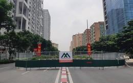 Bắt đầu rào chắn nhiều tuyến đường khu vực Mỹ Đình để làm đường đua F1