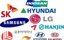 """Chaebol Hàn Quốc """"chịu đòn"""" từ chiến tranh thương mại: Samsung, SK, Lotte... đồng loạt tụt dốc không phanh, lợi nhuận bị """"cuốn bay"""" mất cả một nửa"""