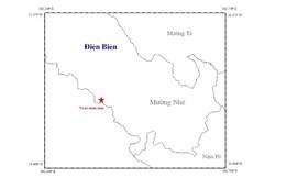 Động đất 2,8 độ richter khiến nhiều nhà dân ở Điện Biên rung lắc