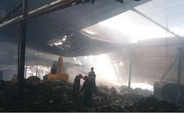 Cháy nhà máy giấy ở Tiền Giang lúc rạng sáng, thiệt hại gần 10 tỷ đồng