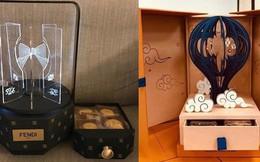 """Ngắm tận mắt hộp bánh Trung thu của các nhà mốt nổi tiếng thế giới, ăn vào cũng thấy """"sang"""" hết cả người"""
