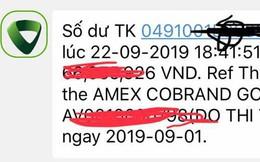 Lại thêm vụ mất tiền trong thẻ ATM của Ngân hàng Vietcombank