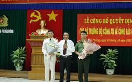 Giám đốc Công an tỉnh Hải Dương làm Giám đốc Công an TP Hải Phòng và ngược lại