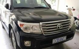 Xe Land Cruiser được doanh nghiệp biếu tặng Nghệ An phải bán đấu giá