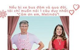 """Bill Gates – vị tỷ phú """"nghiện vợ"""": Nhận rửa bát, đưa đón con, nếu chẳng may bị xe bus đâm và qua đời, chỉ muốn nói 1 câu duy nhất """"Cảm ơn em, Melinda!"""""""