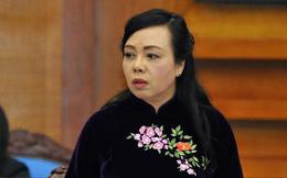 Lý do miễn nhiệm Bộ trưởng Y tế Nguyễn Thị Kim Tiến