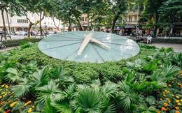 Ở Hà Nội nhiều năm, nhưng chưa chắc bạn nhận ra đây là một chiếc đồng hồ Thụy Sỹ khổng lồ giá 20.000 USD được đặt bên hồ Gươm