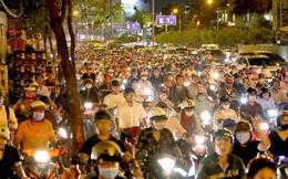 Cấm xe nhiều tuyến đường khu trung tâm TPHCM