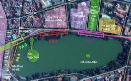 Hà Nội dự kiến vay 30.572 tỷ đồng làm tuyến đường sắt qua Hồ Gươm