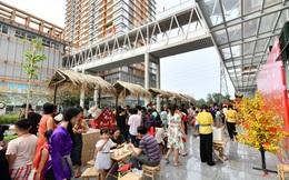 Rộn ràng Tết Việt ở chung cư, khu đô thị