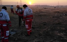 Xuất hiện video quay máy bay Ukraine chở 180 người gặp nạn tại Iran