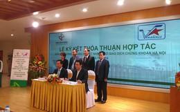 Vinalines ký biên bản thỏa thuận hợp tác với HNX về đấu giá cổ phần