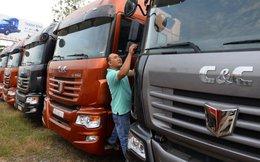 Xe tải Trung Quốc tràn vào Việt Nam
