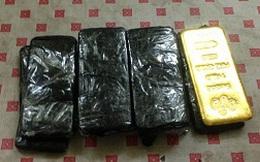 Thu giữ 10 kg vàng nghi nhập lậu từ Trung Quốc