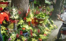 Sau bão, hoa tươi 20/11 càng được đà tăng giá
