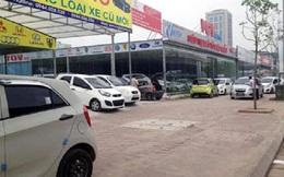 Ủ rũ như chợ ôtô cũ Hà Nội