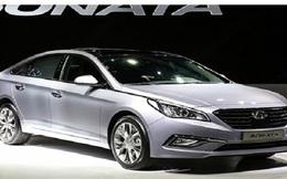 Lỗi phanh, Hyundai triệu hồi hơn 5.000 chiếc Sonata