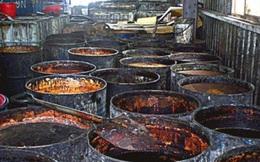 Sản phẩm từ dầu bẩn Đài Loan có tại Việt Nam