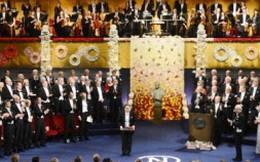 Các chủ nhân giải Nobel 2012 chính thức nhận giải