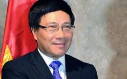 Phó Thủ tướng Phạm Bình Minh phát biểu tại hội nghị Davos