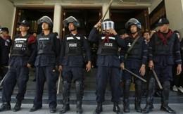 Cảnh sát Thái Lan ra quân dẹp người biểu tình