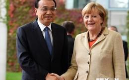 Đức-Trung Quốc ký kết 19 thỏa thuận hợp tác trị giá 2 tỷ euro