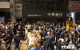 Hong Kong: Xung đột tái bùng phát ở khu vực Mong Kok
