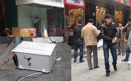 Hà Nội: Kẻ gian phá cây ATM, lôi két sắt ra ngoài