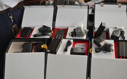 Phát hiện lô thiết bị phá sóng nhập từ Trung Quốc
