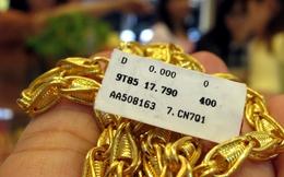 Thiếu thiết bị cân đo chất lượng vàng