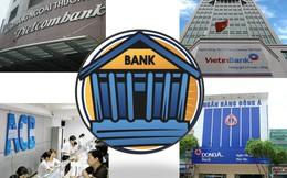 Hệ thống chi nhánh, phòng giao dịch của các ngân hàng Việt lớn thế nào?