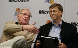 3 triết lý đầu tư kinh điển Bill Gates học được từ Warren Buffett