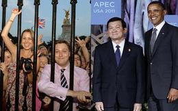 [Nóng trong ngày] Anh đón Hoàng tử nhỏ, Mỹ chào mừng Chủ tịch nước Việt Nam