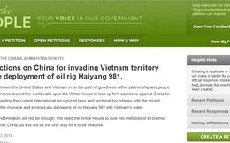 Đã đủ 100.000 chữ ký kêu gọi Nhà Trắng cấm vận Trung Quốc
