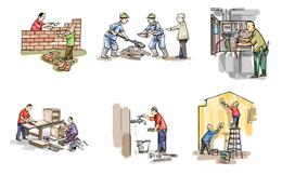 Lao động ngành xây dựng: Tiền công tăng, năng suất không cải thiện