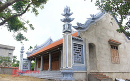 Cận cảnh nhà thờ họ của Trụ trì chùa Bồ Đề Thích Đàm Lan