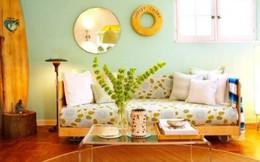 Ngắm thiết kế phòng khách màu sắc đẹp ngẩn ngơ