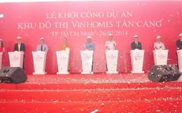 Vingroup khởi công khu đô thị lớn Vinhomes Tân Cảng, vốn đầu tư 30.000 tỷ