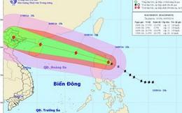 Bão Kalmaegi giật cấp 13 có thể đổ bộ vào Quảng Ninh-Hải Phòng