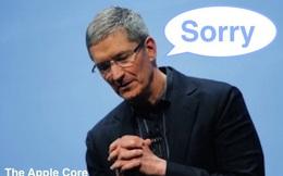 Lời xin lỗi thứ 2 của CEO Tim Cook