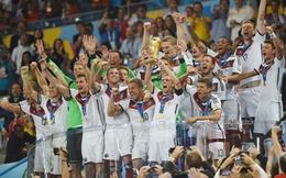 Các cầu thủ Đức 'bỏ túi' bao nhiêu tiền khi đội nhà vô địch World Cup?