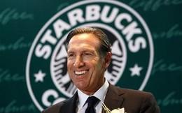 CEO Starbucks nhận mức lương 'khủng' 137 triệu USD/năm