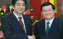 Nhật muốn mời Chủ tịch nước Việt Nam thăm chính thức