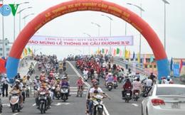 Thông xe cầu trung tâm lấn biển thành phố Rạch Gía