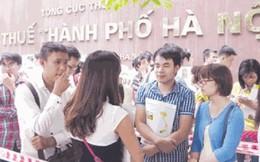 """Thi công chức Cục thuế Hà Nội: Lo đối mặt """"con ông, cháu cha"""""""