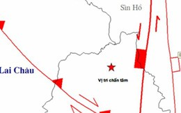 Những trận động đất dưới 7 độ Richter có khả năng xảy ra tại Tây Bắc