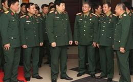 Cần quy định số lượng sỹ quan cấp tướng