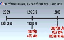 Lần đầu tiên Việt Nam chuyển nhượng dự án đường cao tốc