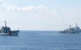 Nhiều tàu hộ tống của Trung Quốc di chuyển tới khu vực giàn khoan